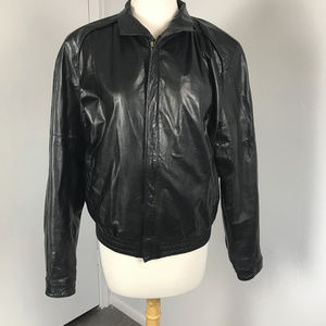 1980s Summit by Robert Comstock Leather Jacket